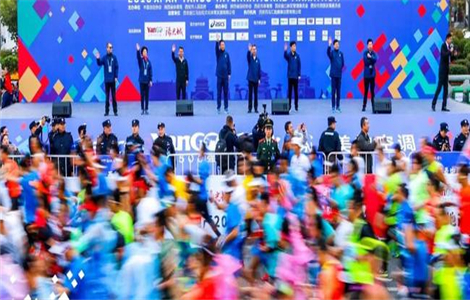 2019西安马拉松初定10月20日起跑,中签或更难!