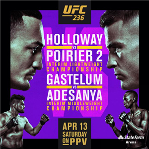 UFC236:霍洛威再战普瓦里尔 开尔文亲历最后狂欢