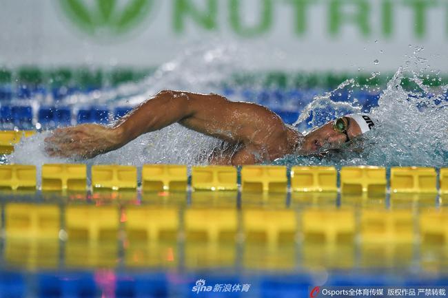 全国游泳城市赛4月13日开赛 700多余爱好者参赛
